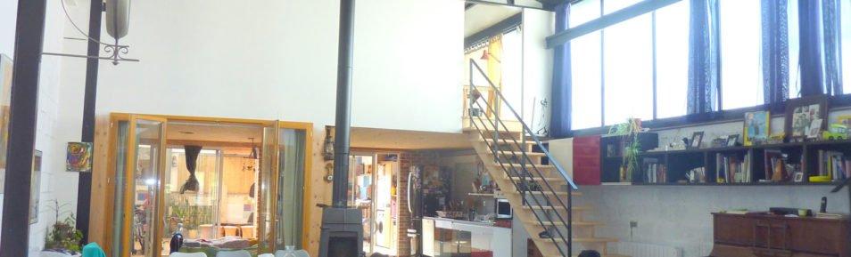RENNES (35) Authentique Loft de 180 m².