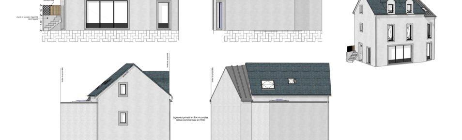 Appartement T5/6 duplex Vern-sur-Seiche (35770)
