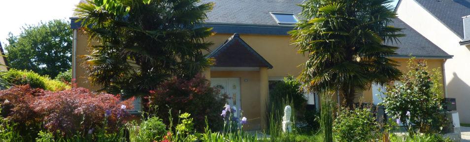 VERN-SUR-SEICHE (35.770) Vaste maison familiale avec jardin Sud-Ouest